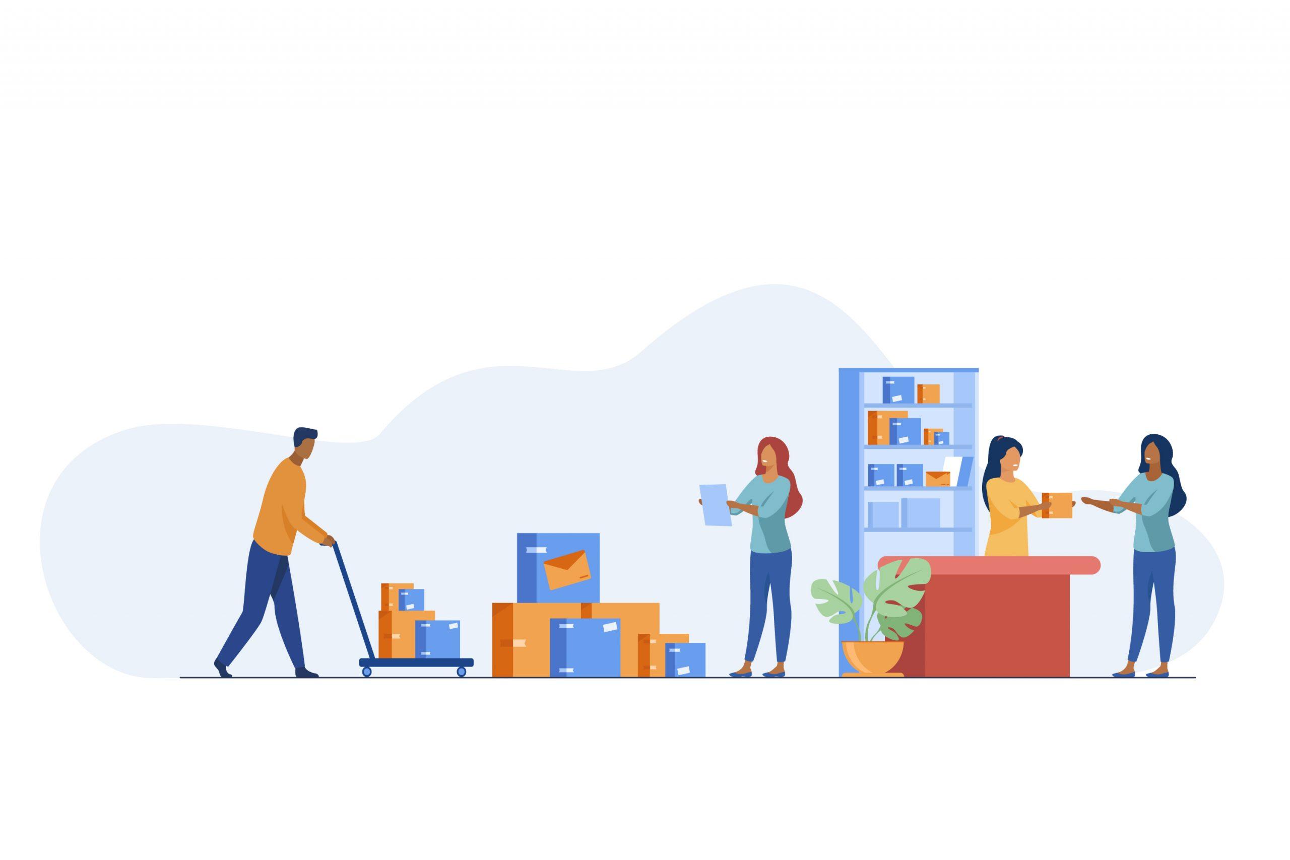 image livraison marchandises